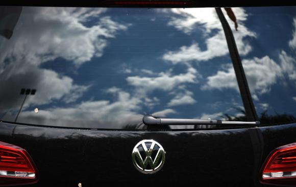 Volkswagen es una fábrica de vehículos en Alemania. Foto: AFP.