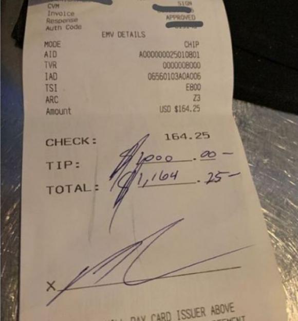 La cuenta que pagó Andre Drummond