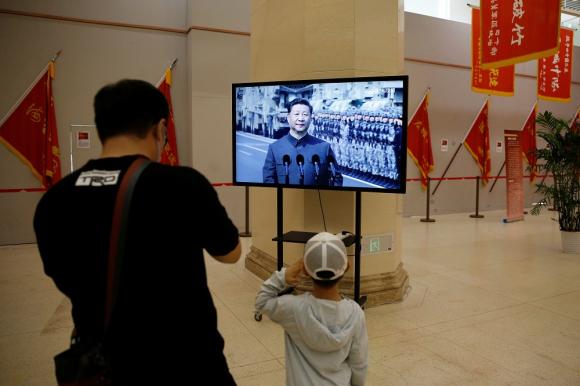 Xi Jinping: opina de los militares deben buscar nuevas formas de entrenar en medio de la pandemia. Foto: AFP