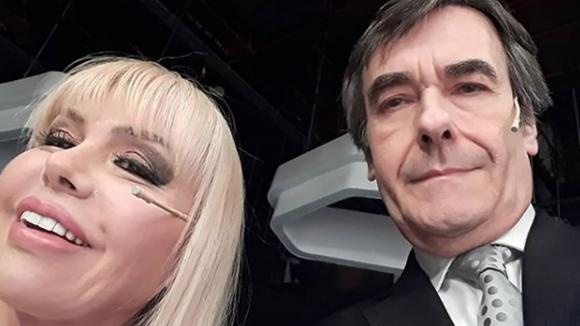 Adriana Aguirre y Ricardo García. Foto: Instagram Adriana Aguirre