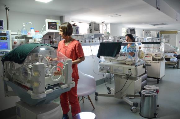 Hospital de la mujer. Foto: ASSE