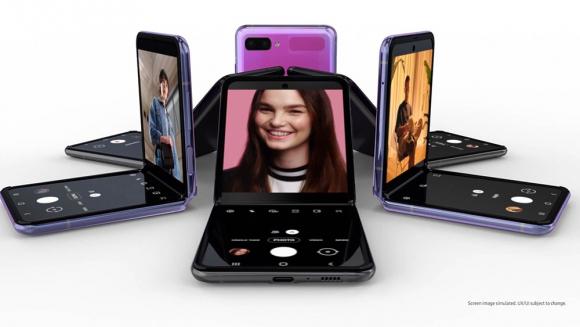 Samsung Galaxy Z Flip. Foto: Cortesía