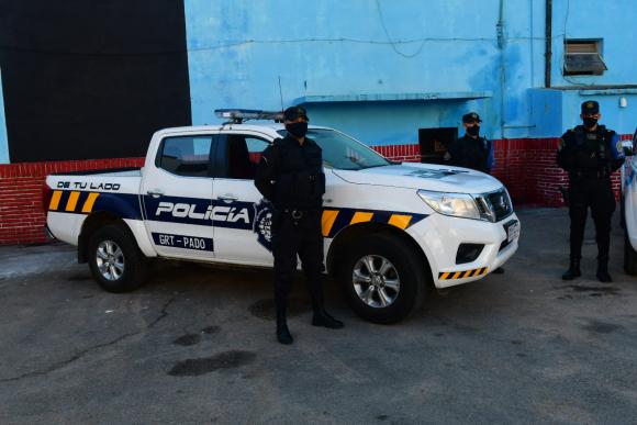 Nuevos patrulleros del Ministerio del Interior. Foto: Francisco Flores.