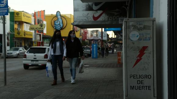 Avance del COVID-19 en Rivera. Foto: Mateo Vázquez