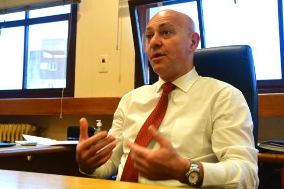 Odizzio aclaró que no participará de la comisión de expertos que analizará la reforma, pero será quien la implemente desde el BPS. Foto: Francisco Flores