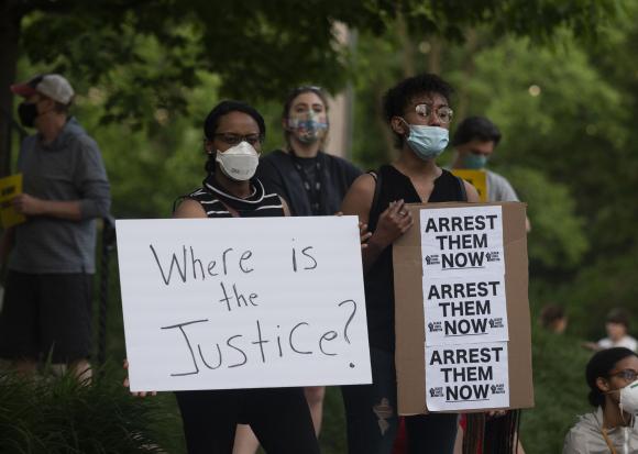 Protestas en Estados  Unidos. Foto: AFP