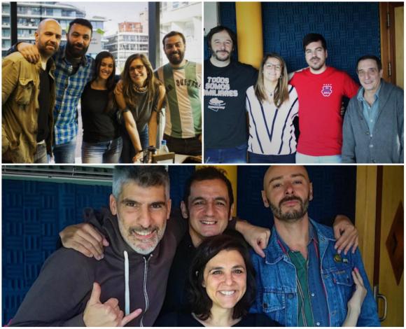 Todo pasa, Abrepalabra y De arriba un rayo. Fotos: Twitter @TodoPasaOceano, @Abrepalabra, @arribaunrayo