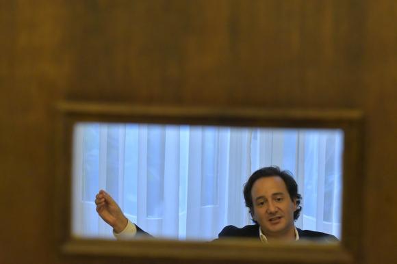 Ignacio Munyo en su oficina