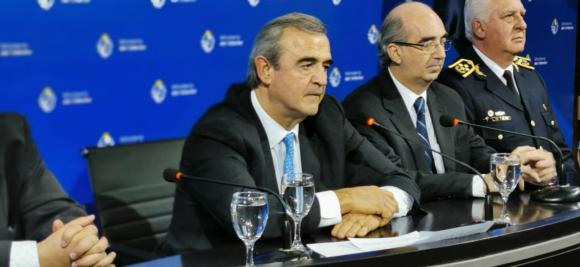 Jorge Larrañaga, ministro del Interior. Foto: Pablo S. Fernández