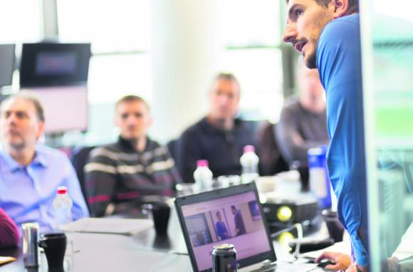 En el área de Recursos Humanos aumentaron sensiblemente los graduados de escuelas de negocios y Administración de Empresas. Foto: Archivo