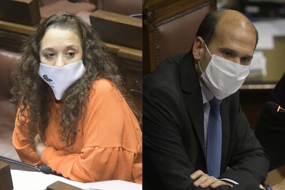 Verónica Mato y Martín Lema. Fotos: Darwin Borrelli.