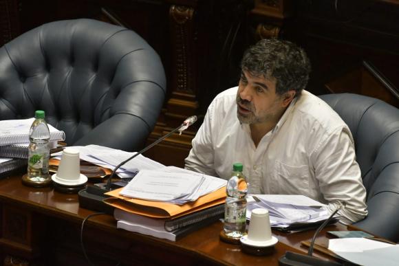 Óscar Andrade. Foto: Leonardo Mainé.