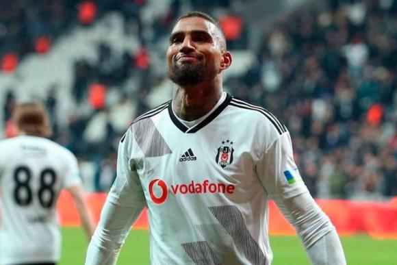 Kevin Prince Boateng, hoy jugador del Besiktas de Turquía