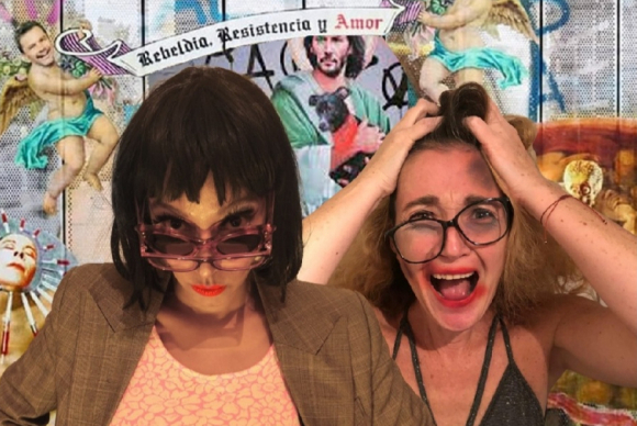 """Nathalie Nicloux y Rocío Terroba están al frente de la comedia """"Casi cielo"""" en su versión chilena. Foto: Difusión"""