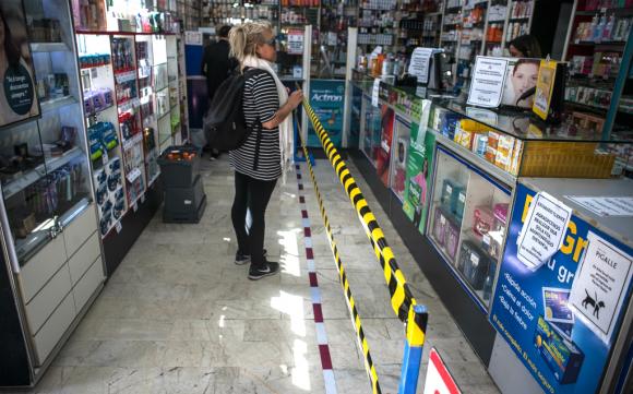 Un golpe en la economía que acentuó el coronavirus, es el del consumo con una caída del empleo y el poder de compra. Foto: Fernando Ponzetto