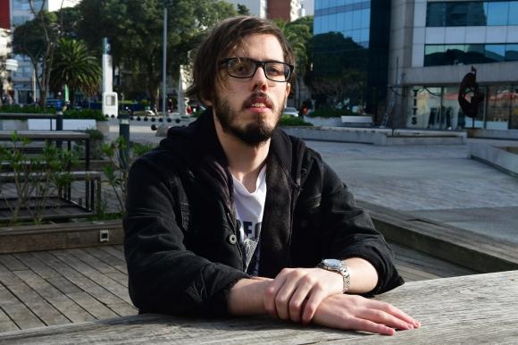 Franco Serra, compositor y cantante de NME.