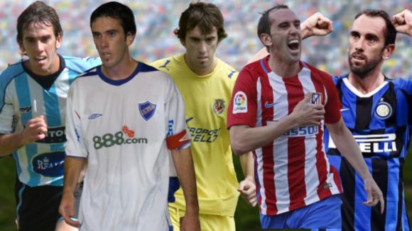 Diego Godín y una carrera en Cerro, Nacional, Villarreal, Atlético de Madrid e Inter.