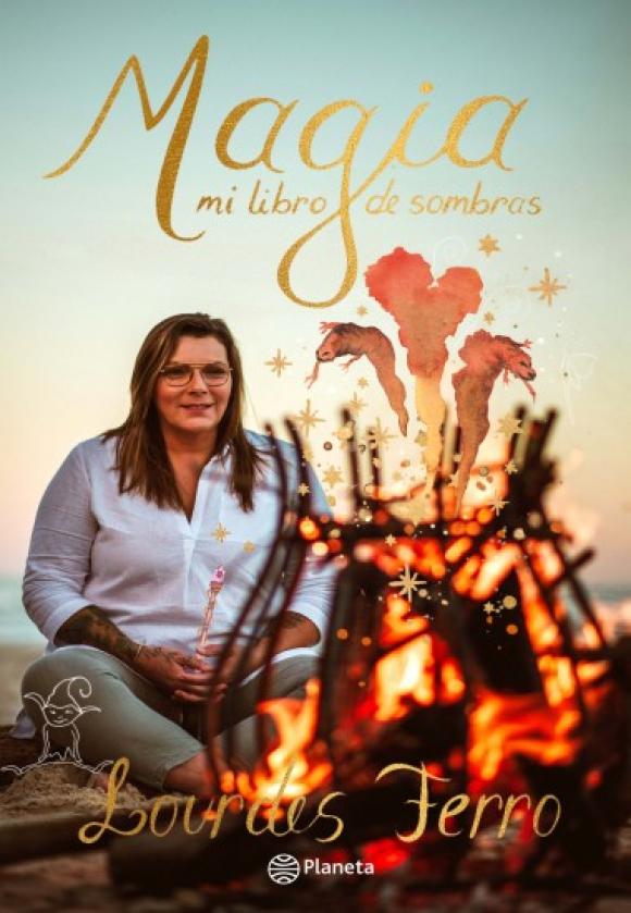 """Portada del libro """"Magia, mi libro de sombras"""" de Lourdes Ferro. Foto: Difusión"""