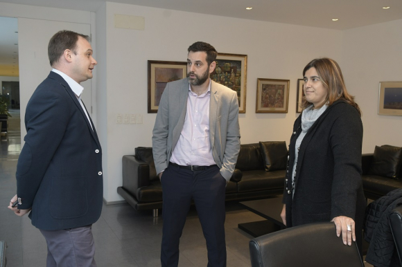 Mariana Pomiés, Eduardo Bottinelli, Rafael Porzecanski. Foto: Darwin Borrelli.