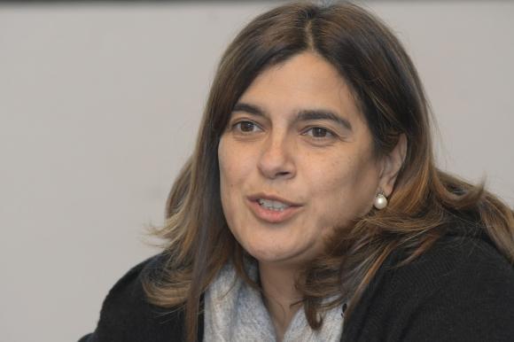 Mariana Pomiés, directora de Cifra. Foto: Darwin Borrelli.