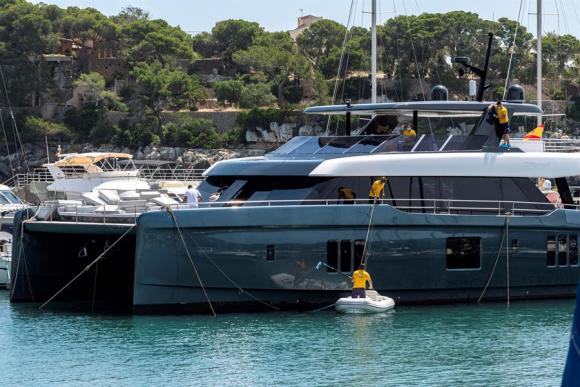 Así es el yate de 5,5 millones de euros de Rafa Nadal. Foto: EFE