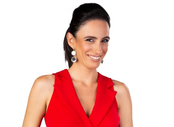 """Noelia Etcheverry será una de las conductoras de """"Amamos el talento"""", en Canal 10. Foto: Difusión"""