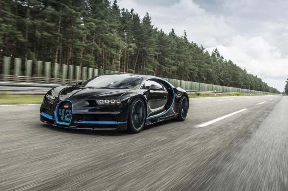 Bugatti Chiron, cuesta 2,5 millones de euros