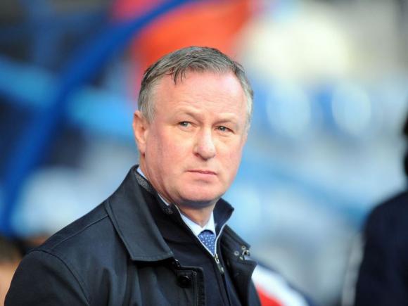Michael O'Neill, entrenador del Stoke City