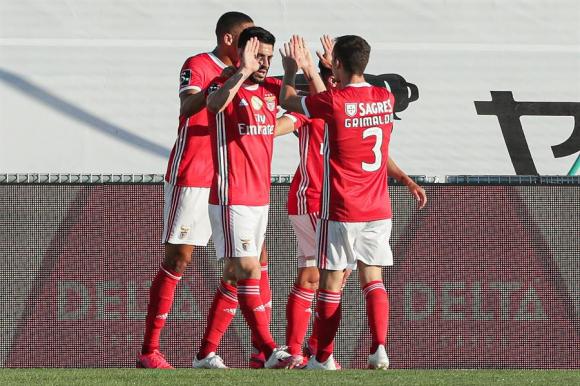 Benfica no está bien tras el regreso. FOTO: EFE.