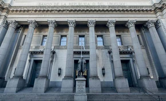 Banco República del Uruguay. Foto: El País