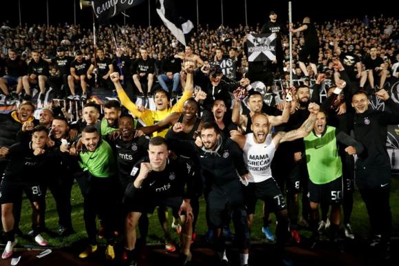 El Partizan ganó el clásico ante el Estrella Roja
