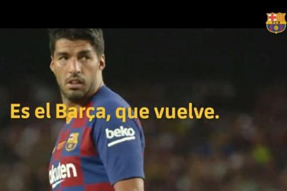 Luis Suárez y el anuncio del regreso del FC Barcelona