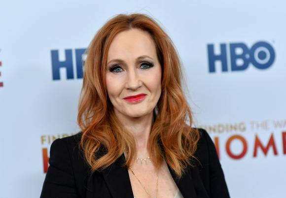 JK Rowling. Foto: AFP