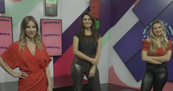 """Nadia Fumeiro, Ana Inés Martínez y Diana Piñeyro hacen """"Marca femenina"""" en DirecTV. Foto: Difusión"""