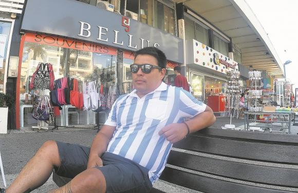 Argentino veranea en Uruguay