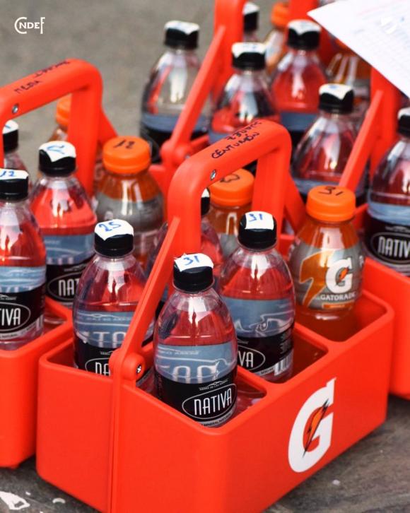 Botellas en Los Céspedes