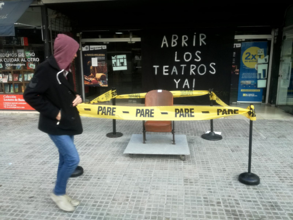 Teatro El Galpón. Foto: Fernando Ponzetto.