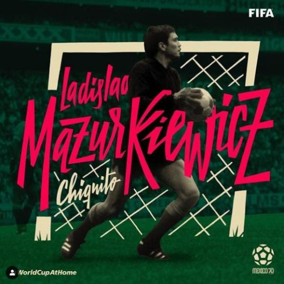 El recuerdo de FIFA para el extraordinario Ladislao Mazurkiewicz