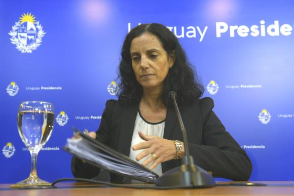 Azucena Arbeleche, ministra de Economía. Foto: Gerardo Pérez