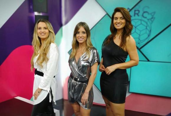 """Ana Inés Martínez, Nadia Fumeiro y Diana Piñeyro al frente de """"Marca femenina"""". Foto: Difusión"""