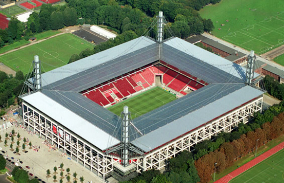 El estadio de Colonia, en Alemania.