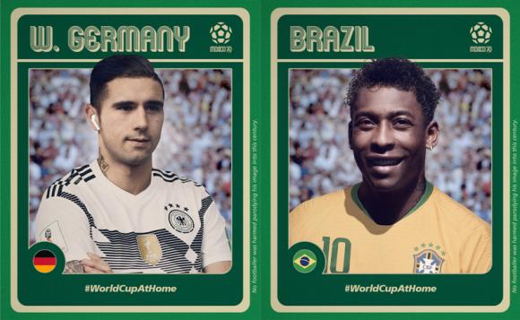 Así se verían en 2020 Gerd Müller y Pelé