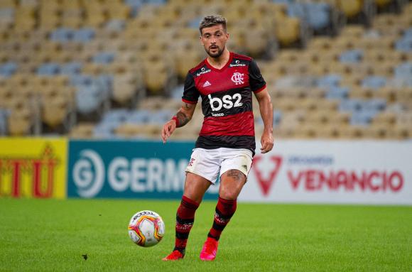 Giorgian De Arrascaeta. Foto: @Flamengo.