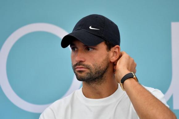 El búlgaro Grigor Dimitrov es el primer tenista Top 20 con coronavirus