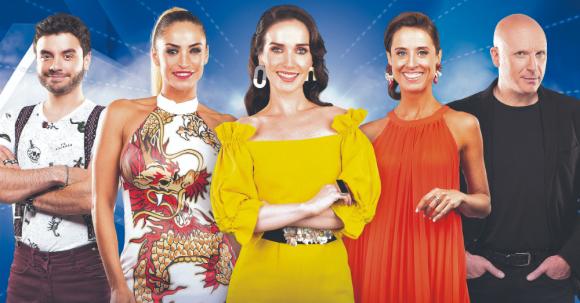 """El equipo de """"Got Talent Uruguay"""". Foto: Difusión"""