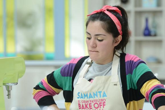 """Samanta Casais, finalista de """"Bake Off Argentina"""". Foto: Telefé"""