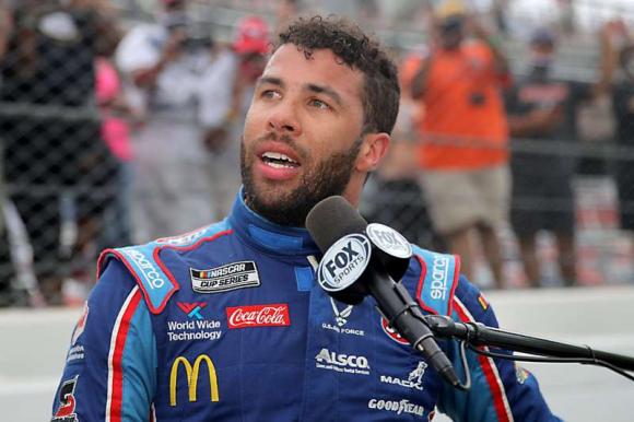 Darrell Wallace, piloto de NASCAR