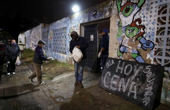 Coronavirus en Argentina. Foto: Reuters.