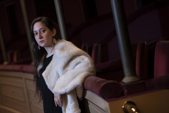 Leonor Courtoisie, actriz, dramaturga.