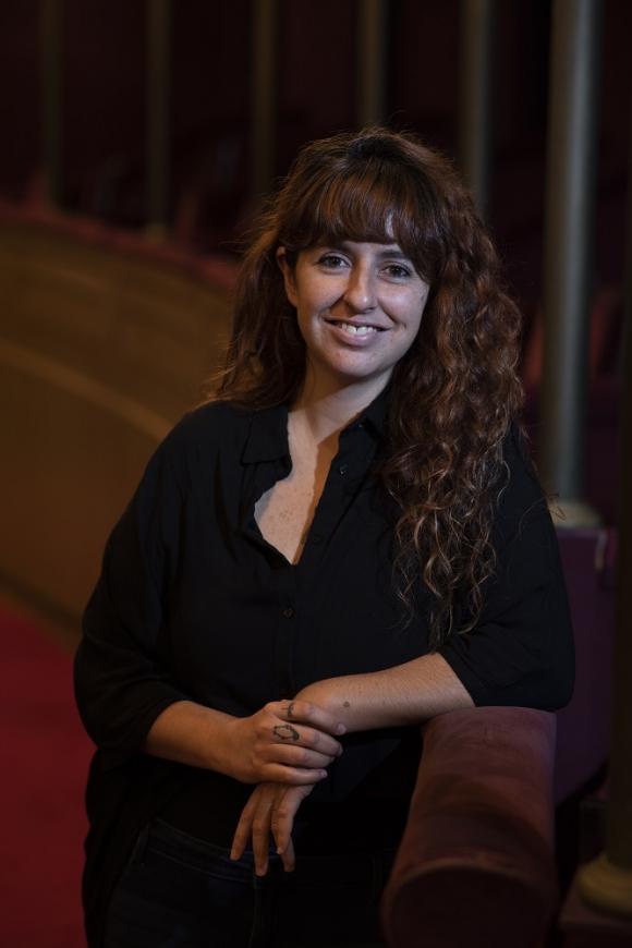 Vika Fleitas, dramaturga y directora